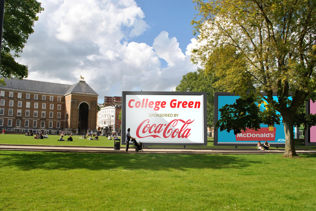 Campaigners force council debate on advertising in Bristol parks